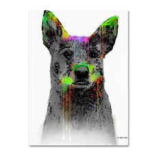 Cattle Dog by Marlene Watson Painting Print on Wrapped Canvas