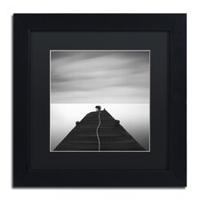 """""""Free"""" by Moises Levy Framed Photographic Print in Black"""