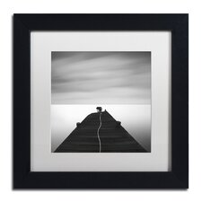 """""""Free"""" by Moises Levy Framed Photographic Print in White"""
