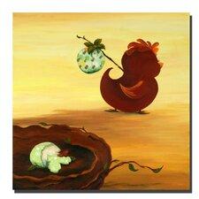 Leaving the Nest by Sylvia Masek Canvas Art
