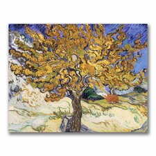 'Mulberry Tree, 1889' by Vincent Van Gogh Painting Print on Wrapped Canvas