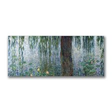 """Waterlillies Morning"" by Claude Monet Painting Print on Wrapped Canvas"