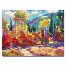 'The Colors of New Hampshire' by David Lloyd Glover Painting Print on Canvas