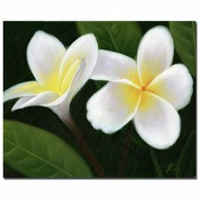 """""""Hawaiian Lei Flowers"""" by Rio Painting Print on Wrapped Canvas"""