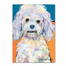 'Lulu' by Pat Saunders-White Painting Print on Canvas
