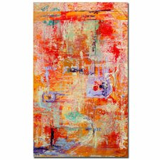 """""""Odessy"""" by Pat Saunders-White Painting Print on Canvas"""