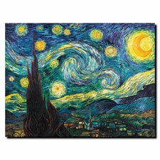 """Starry Night"" by Vincent van Gogh Painting Print on Wrapped Canvas"
