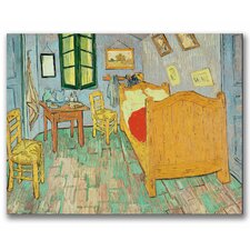 """Van Gogh's Bedroom at Arles"" by Vincent van Gogh Painting Print on Wrapped Canvas"
