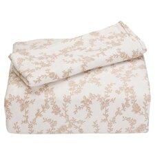 Victoria Flannel Sheet Set