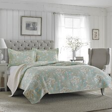Brompton Quilt Set in Blue