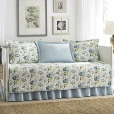 Peony Garden 5 Piece Daybed Cover Set