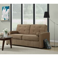 Dorel Living Monroe Button Tufted Sofa