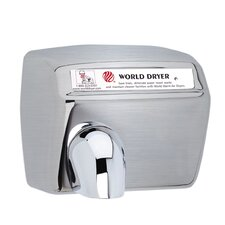 Model A Durable 110-120 Volt Hand Dryer in Brushed Stainless Steel