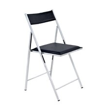 Folding Chair with Techniflex Seat (Set of 2)