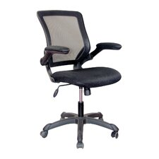 High-back Mesh Task Chair with Flip-Up Arms