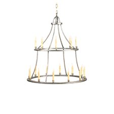 Colonial 20 Light Candle Chandelier
