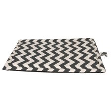 Snoooz Comfort Pet Crate Mattress in Grey and White