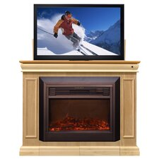Conestoga Lift TV Stand with Electric Fireplace