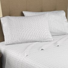 Dotted Line 300 Thread Count Certified Organic Sheet Set