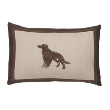 Baxter Dog Throw Pillow