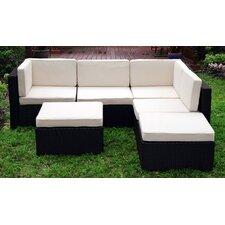 Montecarlo Sectional Sofa with Cushions