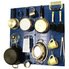 Kitchen Organizer Pots & Pans Pegboard Pack