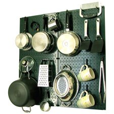 Kitchen Organizer Pots & Pans Pegboard Pack