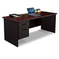 Pronto Executive Desk with 2 Left Drawers