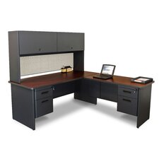 Pronto L-Shape Executive Desk with Return