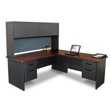 Pronto Return and Pedestal Executive Desk