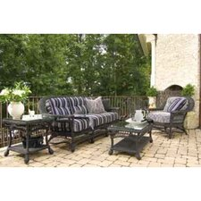 Cottage 4 Piece Deep Seating Group with Cushions