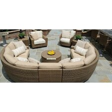 Saddleback Sectional Seating Group
