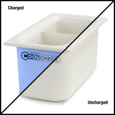 Coldmaster® 3.4-Qt CoolCheck Divided Food Pan