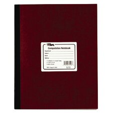 Numbered Pages Quadrille Computation Notebook (Set of 12)