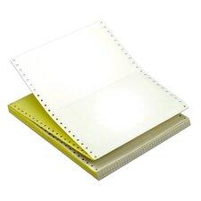 15 lbs 2 Part Carbonless Ream Margin Computer Paper (Set of 3300)