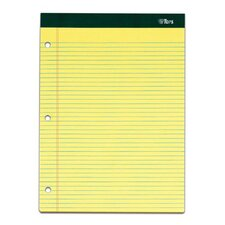 60 pt. Double Docket 3 Hole Punched Legal Pad (Set of 24)