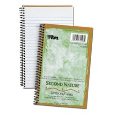 Second Nature Narrow Ruled Notebook (Set of 48)
