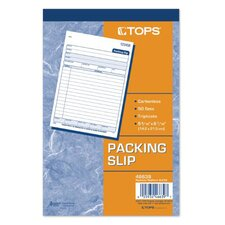 3 Part Carbonless Packing List (Set of 50)