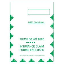 """9"""" x 12.5"""" Self Seal Right Window CMS Envelope (Set of 500)"""