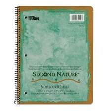 Second Nature Quadrille Ruled Notebook (Set of 24)