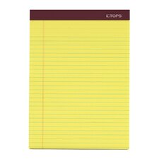 60 pt. Chip Double Docket Gold Legal Rule Pad (Set of 18)