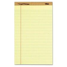 Legal Pad Plus Ruled Perforated Pad (Set of 12)