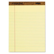Legal Pad Legal Rule Perforated Pad (Set of 9)