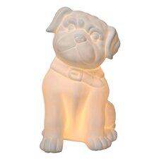 "Puppy Dog Porcelain 10.3"" H Table Lamp"