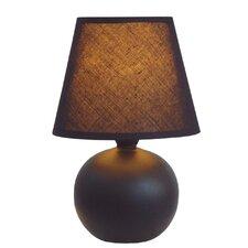 "Ceramic Globe 8.66"" H Table Lamp with Empire Shade"