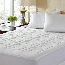 "4 Zone 1"" Memory Foam Mattress Enhancer"