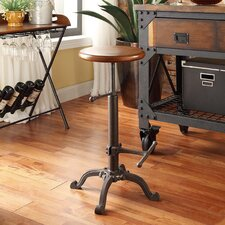 Houston Adjustable Height Swivel Bar Stool