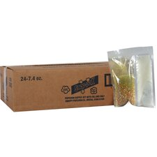 7.4 oz Snap Paks Caramel Glaze Yellow Popcorn (Set of 24)