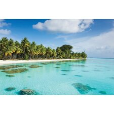 Outdoor Bahama Blues Photographic Print on Canvas