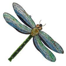 Dragonfly Mosaic Wall Décor